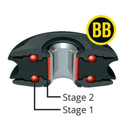 2-stage bearing