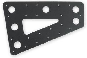 M042-1129 Series 42 headboard plates